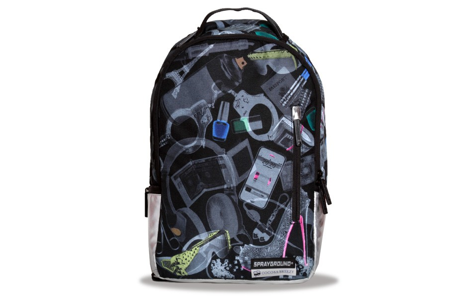 Exposed X-ray Vison Backpack ++ Pouch
