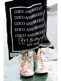 Coco and Breezy Signature Bag (Black)