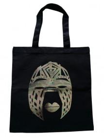Line Tribal Mask Bag (Black)